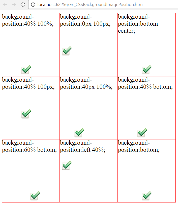 Background position - Html position div ...